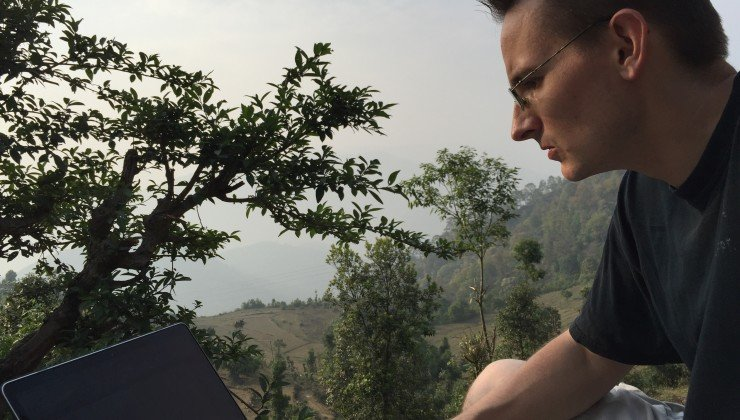 Finding Internet access in the Himalayas