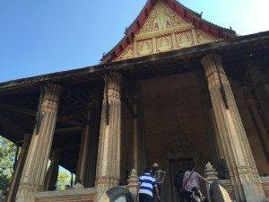 Wat Si Saket in Vientiane, Laos.