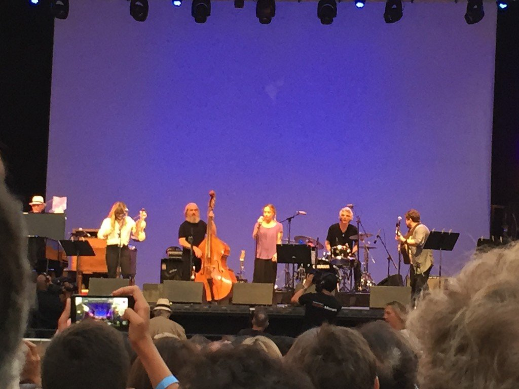 Fiona Apple concert at Lincoln Center.